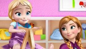 Anna et Bébé Elsa