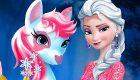 Elsa et le poney magique