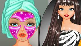 Le maquillage d'Antonia
