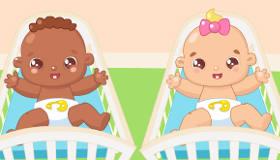 Jeu de bébés pour filles
