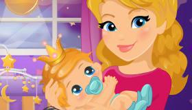Le coucher de bébé princesse