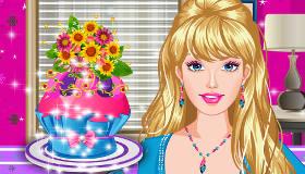Apprends à cuisiner des cupcakes avec Barbie