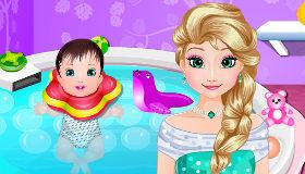 Le Spa pour bébé d'Elsa
