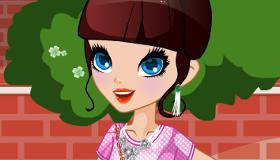 Un maquillage de jeune fille