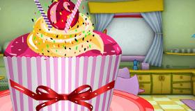 Un cupcake géant