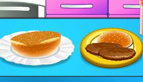 L'Art du Hamburger pour Filles