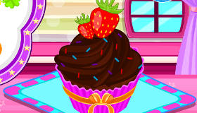 Délicieux cupcakes crémeux