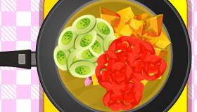 Cuisine une Salade de Fruits