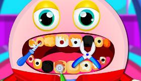 Humpty Dumpty chez le dentiste