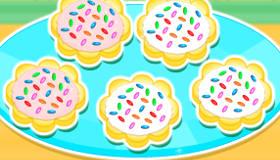 Des cookies savoureux