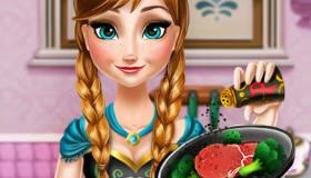 Anna en cuisine