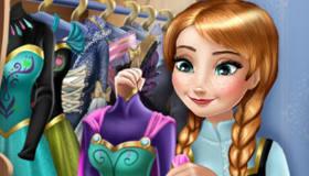 La Reine des Neiges et Anna