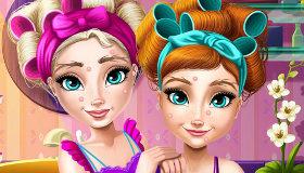 Le Relooking de Fille d'Elsa et Anna