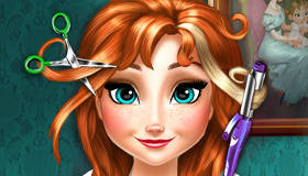 Coupe de cheveux d'Anna de La Reine Des Neiges