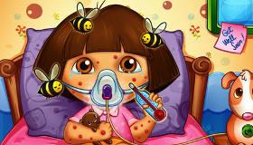 Les piqûres d'abeilles de Dora
