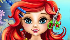 La coiffure de bébé Ariel