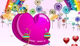 Décore un cœur de Saint Valentin