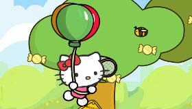 Hello Kitty et les bonbons