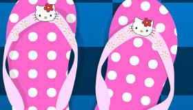 Claquettes Hello Kitty