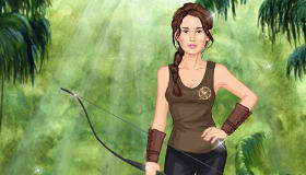 Katniss du film Hunger Games