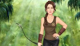 Katniss du film Hunger Games