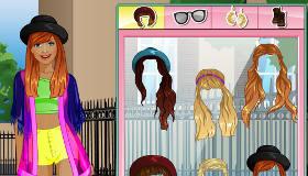 Habillage hippie pour filles