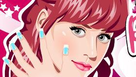 Manucure Artistique de Katy Perry