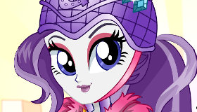 Rarity à la mode des Equestria Girls