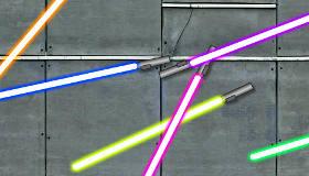 Mikado de sabre laser