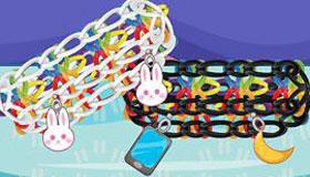 Jeu de bracelet élastique rainbow loom pour filles