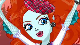 Lorna McNessie de Monster High