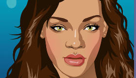 Habille et maquille Rihanna