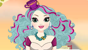 Habille Madeline Hatter d'Ever After High