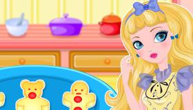 Les gâteaux de pain d'épice de Blondie Locks