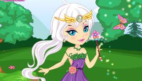 Habille une elfe féérique