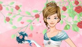 Habiller une mariée pour la Saint Valentin