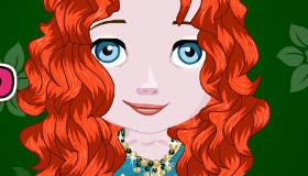 Coiffure de la princesse Merida