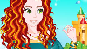 Maquillage de la princesse Merida