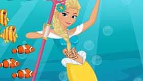 Habillage de Princesses Disney en Sirènes