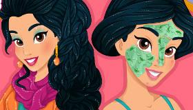 Maquillage de la princesse Jasmine