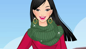 Habillage de la Princesse Mulan