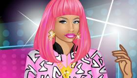 Jeu d'habillage Nicki Minaj pour filles