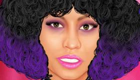 Maquiller Nicki Minaj