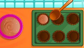 Cuisine un cupcake au Nutella