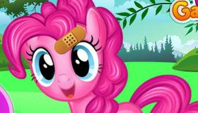 Pinkie Pie chez le docteur