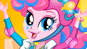 Habillage de Pinkie Pie