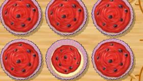 Gâteaux à la pastèque