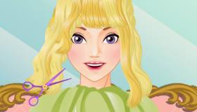 Salon de coiffure de princesse