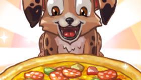 Pizza pour chiots