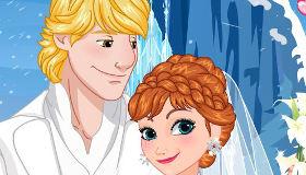 Mariage d'Anna de la Reine des Neiges